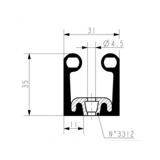 Fermod-8511-Series-Gasket