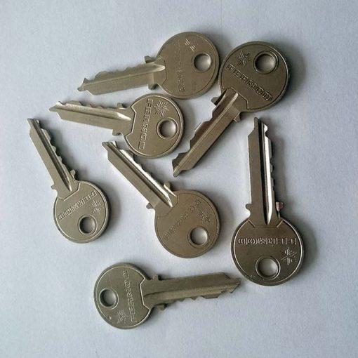 Fermod Replacement Keys