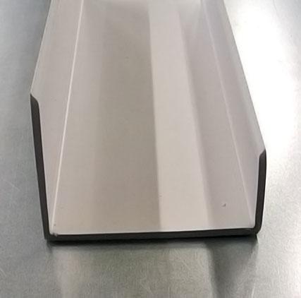 White Plastic Channel Trims Coldroomspares Co Uk